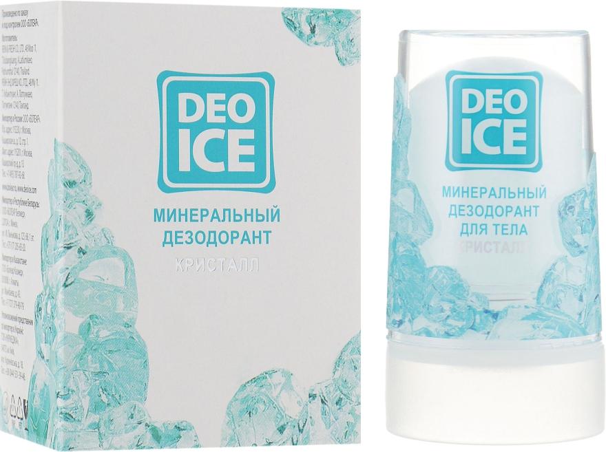 """Минеральный дезодорант """"Кристалл"""" - DeoIce"""