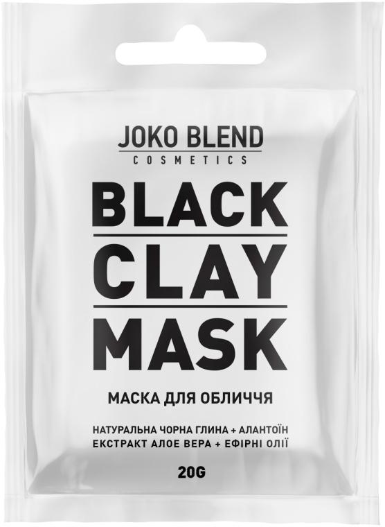 Черная глиняная маска для лица - Joko Blend Black Clay Mask