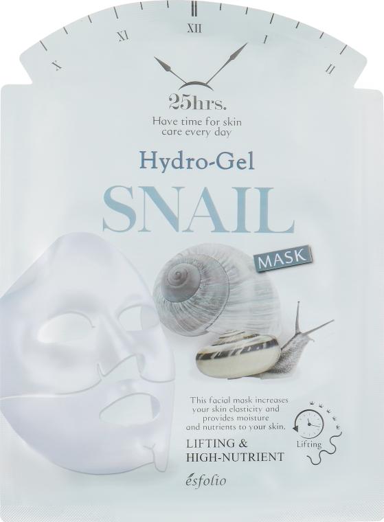 Гидрогелевая улиточная маска - Esfolio Hydrogel Snail Mask