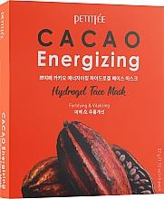 Духи, Парфюмерия, косметика Гидрогелевая тонизирующая маска для лица с экстрактом какао - Petitfee&Koelf Cacao Energizing Hydrogel Face Mask