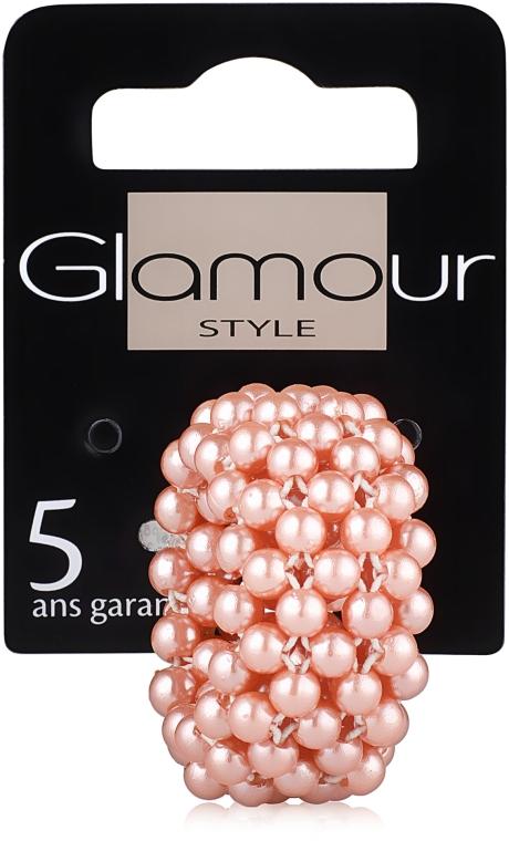 Резинка-браслет для волос, пудровая - Glamour