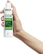 Шампунь против перхоти интенсивного действия для нормальных и жирных волос - Vichy Dercos Anti-Dandruff Advanced Action Shampoo — фото N6