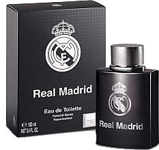 Духи, Парфюмерия, косметика Air-Val International Real Madrid Black - Туалетная вода