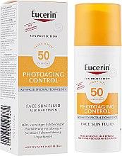 Духи, Парфюмерия, косметика Солнцезащитный антивозрастной флюид - Eucerin Anti-Age Sun Fluid SPF 50