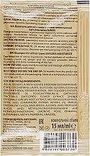 Шампунь для всіх типів волосся зволожувальний - Demira Professional Saflora Moisturize (пробник) — фото N2