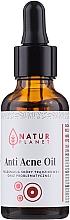 Духи, Парфюмерия, косметика Масло против прыщей - Natur Planet Anti Acne Oil