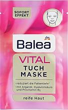 Духи, Парфюмерия, косметика Тканевая маска для лица - Balea Vital Facial Mask
