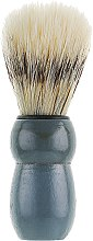 Парфумерія, косметика Помазок для гоління, 499955 (P916), сірий - Inter-Vion