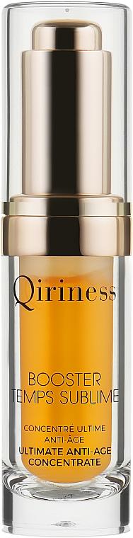 Антивозростная сыворотка-бустер для лица - Qiriness Booster Temps Sublime Ultimate Anti-Age Concentrate