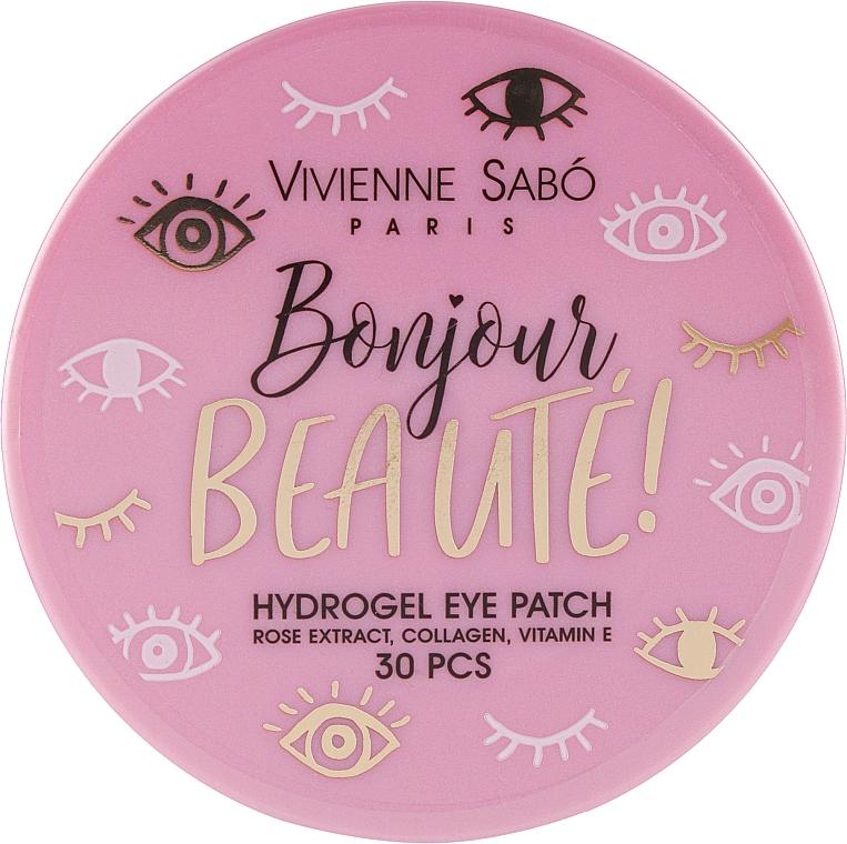 Гидрогелевые патчи для глаз - Vivienne Sabo Bonjour, Beaute! Hydrogel