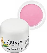 Парфумерія, косметика Однофазний гель для нарощування - Avenir Cosmetics LED French Pink