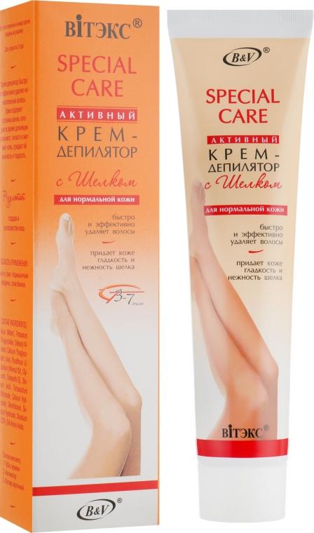 Активный крем-депилятор с шелком для нормальной кожи - Витэкс Special Care