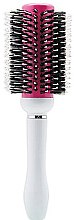 Духи, Парфюмерия, косметика Брашинг, круглый, розовый с белым №73 - Perfect Beauty Brushes Pink Cream 73mm