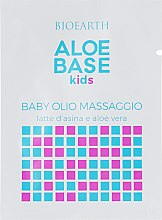 Детское Массажное Масло - Bioearth Aloebase Kids Baby Massage Oil With Aloe (Пробник) — фото N1