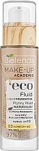 Духи, Парфюмерия, косметика Жидкий тональный флюид - Bielenda Eco Fluid Liquid Foudation SPF 10