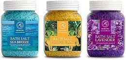 Духи, Парфюмерия, косметика Набор - Aromatika Bath Salt (salt/3*400g)