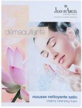 Духи, Парфюмерия, косметика Шелковый очищающий мусс - Jean d'Arcel Cleansing Foam Satin (пробник)