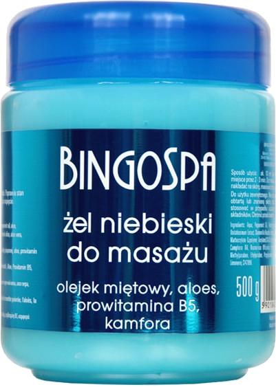 Гель для массажа охлаждающий против болей в мышцах и суставах - BingoSpa Gel Blue