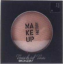 Духи, Парфюмерия, косметика Бронзер для лица - Make up Factory Touch Of Tan Bronzer