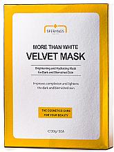 Духи, Парфюмерия, косметика Отбеливающая тканевая маска - Sferangs More Than White Velvet Mask