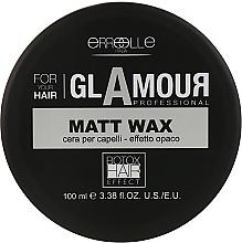 Парфумерія, косметика Матовий моделювальний віск для волосся з ефектом ботокса - Erreelle Italia Glamour Professional Cera Matt Wax Effetto Botox