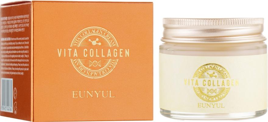 Крем для лица подтягивающий с коллагеном - Eunyul Vita Collagen Cream