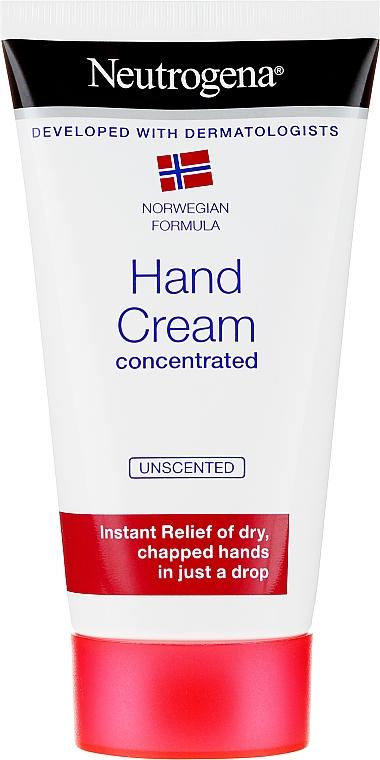 Концентрированный крем для рук - Neutrogena Norwegian Formula Concentrated Unscented Hand Cream
