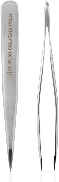 Пинцет для бровей (точечный), TE-10/5 - Staleks