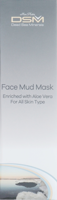 Грязевая маска для лица и шеи - Mon Platin DSM Face Mud Mask