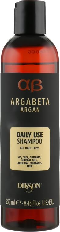 Аргановый шампунь для всех типов волос - Dikson Argabeta Argan Shampoo Daily Use