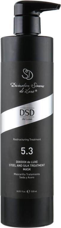 Відновлююча маска - Divination Simone De Luxe Dixidox DeLuxe Steel and Silk Treatment Маѕк — фото N4
