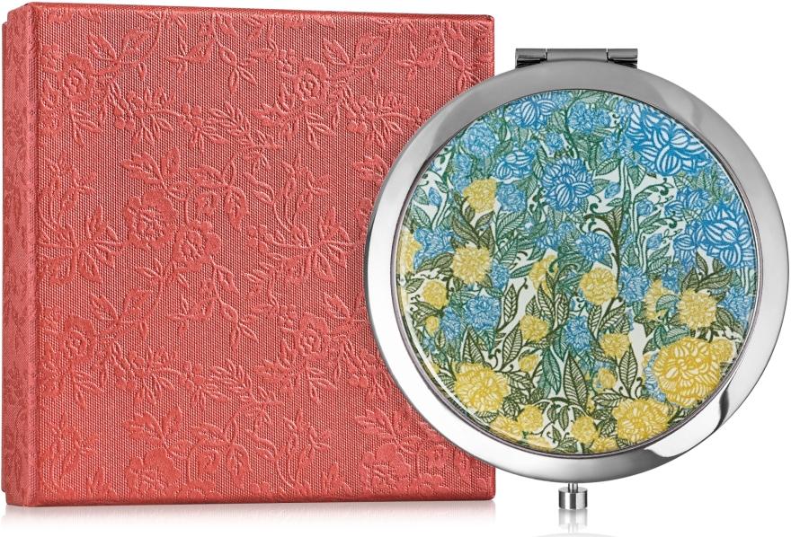 """Зеркальце карманное """"Цветочный принт"""" - Devays Maker"""