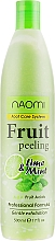 Духи, Парфюмерия, косметика Фруктовый пилинг - Naomi Fruit Peeling Foot Care System