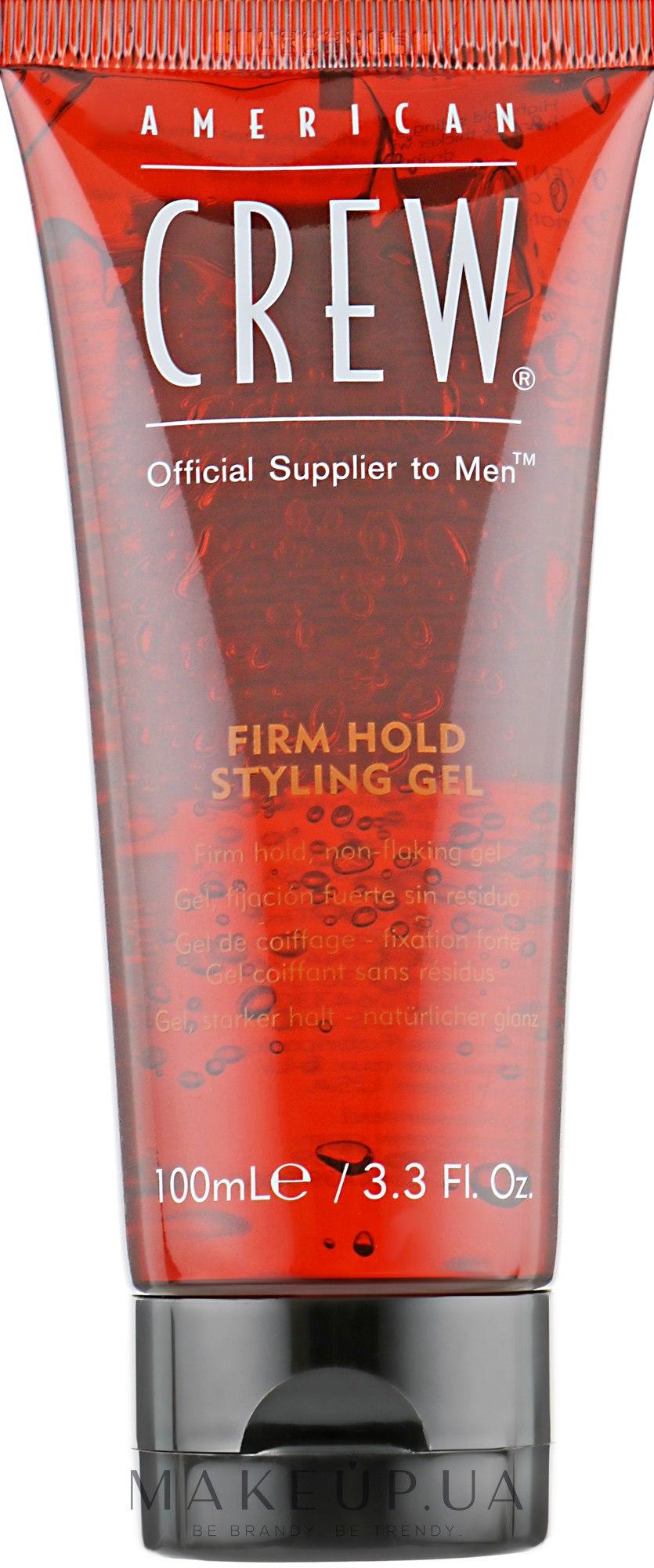 Гель сильної фіксації - American Crew Firm Hold Styling Gel — фото 100ml