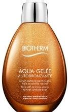Парфумерія, косметика Сироватка-автозасмага для обличчя - Biotherm Autobronzant Aqua Gelee Tanning Serum