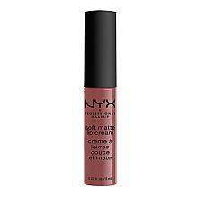 Духи, Парфюмерия, косметика Жидкая помада для губ - NYX Professional Makeup Soft Matte Lip Cream