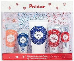 Духи, Парфюмерия, косметика Набор - Polaar Polaar Christmas 2020 My Beauty Essentials Gift Set (f/cr/25ml + f/cr/15ml + b/milk/50ml + h/cr/25ml + lip/balm/10ml)
