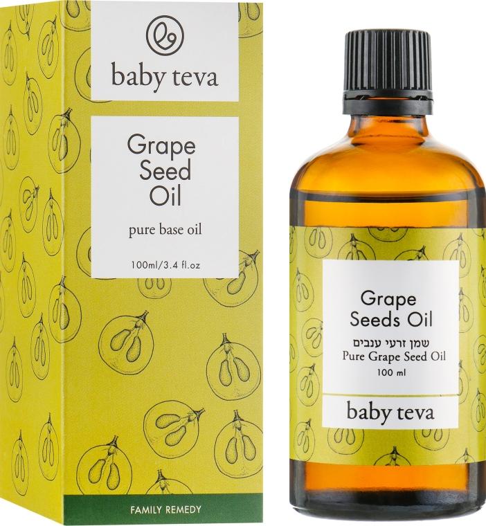 Универсальное масло из виноградных косточек для родителей и детей - Baby Teva Grapeseed Oil