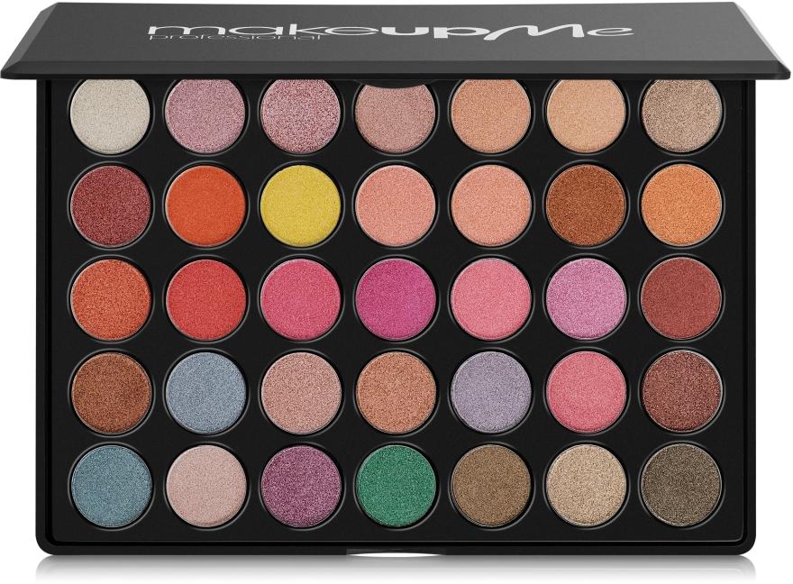 Профессиональная палитра теней 35 цветов, E35 - Make Up Me