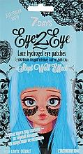 """Духи, Парфюмерия, косметика """"Кружевные"""" гидрогелевые патчи для глаз для тонких натур с экстрактом кофе - 7 Days Eye2Eye Lace Hydrogel Eye Patches"""