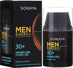 Духи, Парфюмерия, косметика Увлажняющий матирующий гидрогель для мужчин - Soraya Men Energy Hydro-Gel 30+