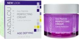 Духи, Парфюмерия, косметика Укрепляющий крем лифтинг - Andalou Naturals Age-Defying Goji Peptide Perfecting Cream