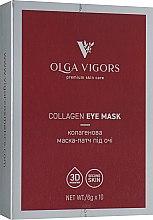 Духи, Парфюмерия, косметика Коллагеновая маска-патч под глаза - Vigor Collagen Eye Mask