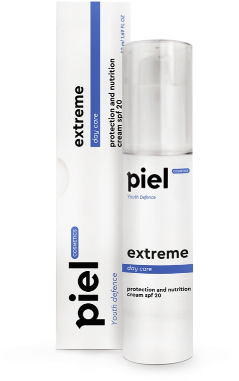 Защитный дневной cold-крем для лица для всех типов кожи - Piel Cosmetics Extreme SPF 20 Cream