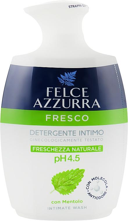 """Жидкое мыло для интимной гигиены """"Природная свежесть"""" - Felce Azzurra Menthol Intimate Wash"""