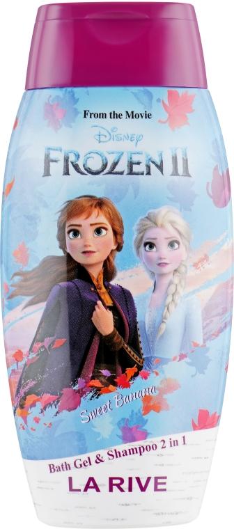 """Гель для купания и шампунь """"Сладкий банан"""" - La Rive Disney Frozen Bath Gel&Shampoo 2in1 Sweet Banana"""
