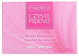 Духи, Парфюмерия, косметика Матирующие салфетки для лица - Czyste Piekno