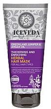 Духи, Парфюмерия, косметика Маска для волос - Iceveda Greenland Juniper&Argan Oil Thickening and Enriching Herbal Hair Mask