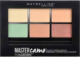 Палетка корректоров для лица - Maybelline New York Facestudio Master Camo Color Correcting Kit  — фото N1