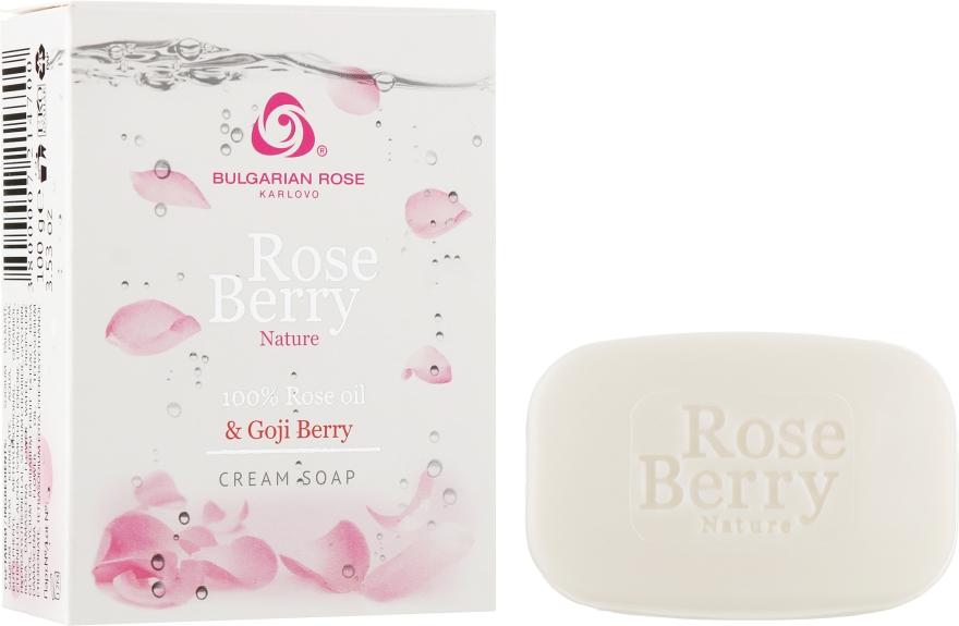 Крем-мыло - Bulgarska Rosa Rose Berry Nature Cream Soap